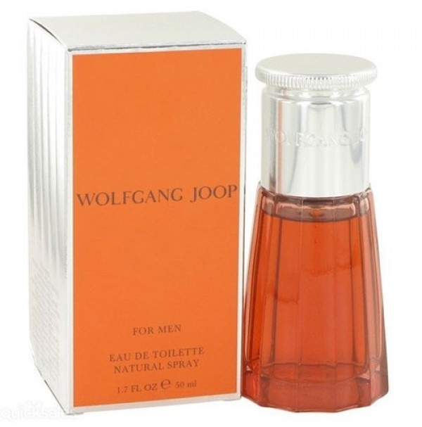 WOLFGANG JOOP 50ML EDT SPRAY FOR MEN BY JOOP - RARE TO FIND