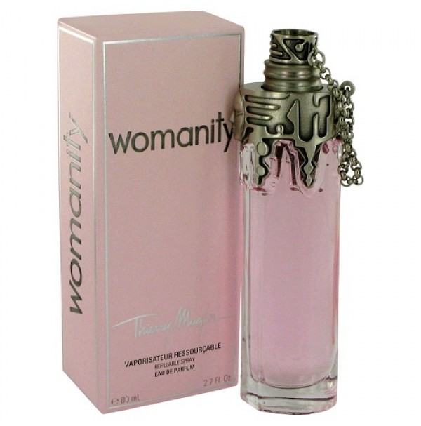 WOMANITY 80ML EDP SPRAY FOR WOMEN BY THIERRY MUGLER. RARE TO FIND