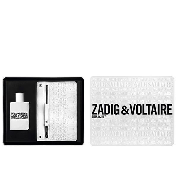 ZADIG & VOLTAIRE THIS IS HER! 50ML EDP GIFT SET FOR WOMEN BY ZADIG & VOLTAIRE
