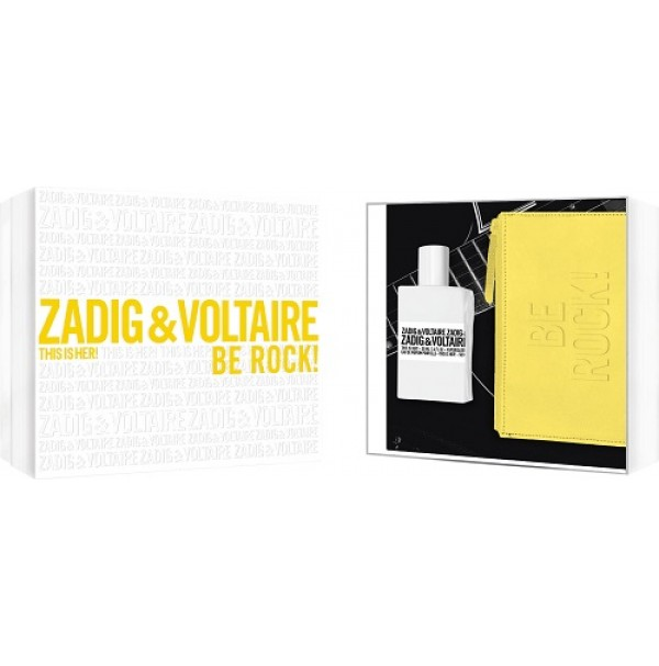 ZADIG & VOLTAIRE THIS IS HER! BE ROCK 50ML GIFT SET FOR WOMEN BY ZADIG &VOLTAIRE