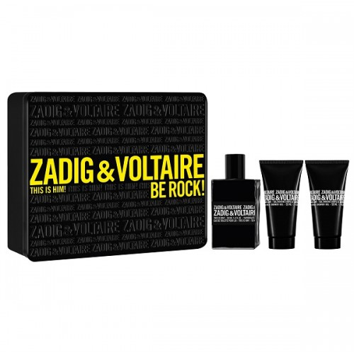ZADIG & VOLTAIRE THIS IS HIM! BE ROCK 50ML GIFT SET FOR MEN BY ZADIG &VOLTAIRE