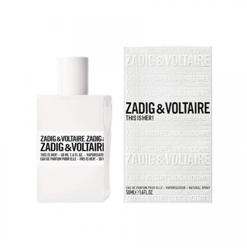 ZADIG & VOLTAIRE THIS IS HER! 50ML EDP FOR WOMEN BY ZADIG & VOLTAIRE