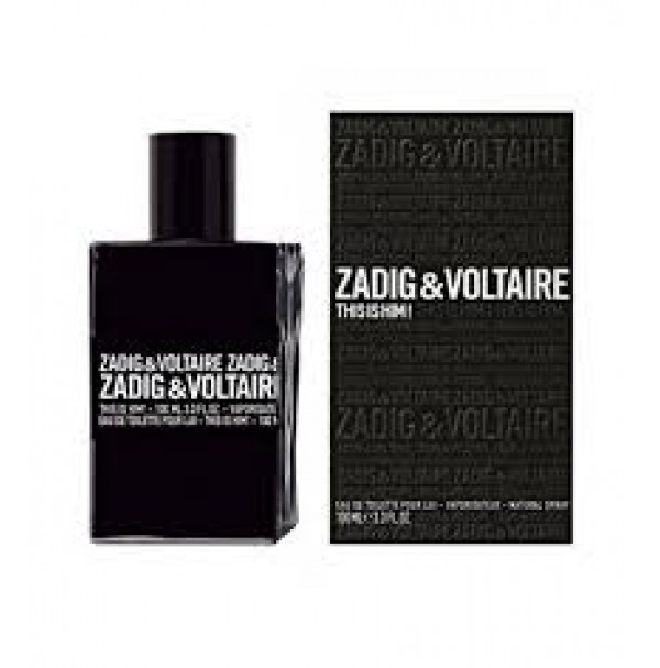 ZADIG & VOLTAIRE THIS IS HIM! 100ML EDT SPRAY BY ZADIG & VOLTAIRE