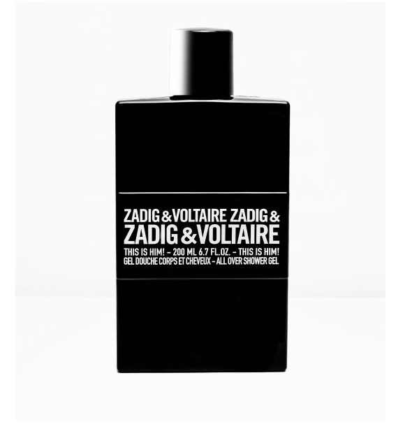 ZADIG & VOLTAIRE THIS IS HIM! 200ML SHOWER GEL BY ZADIG & VOLTAIRE