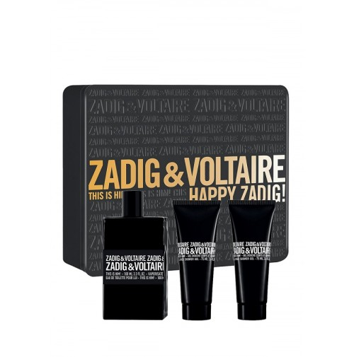 ZADIG & VOLTAIRE THIS IS HIM! HAPPY ZADIG 100ML GIFTSET FOR MEN BY ZADIG &VOLTAIRE