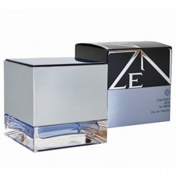 ZEN FOR MEN 50ML MENS PERFUME EDT SPRAY BY SHISEIDO