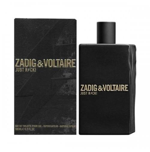 ZADIG & VOLTAIRE JUST ROCK! 100ML EDT SPRAY FOR MEN BY ZADIG & VOLTAIRE