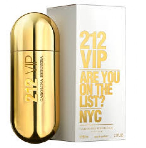 212 VIP WOMEN 80ML EDP SPRAY BY CAROLINA HERRERA