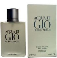 ACQUA DI GIO POUR HOMME 100ML EDT SPRAY FOR MEN BY GIORGIO ARMANI