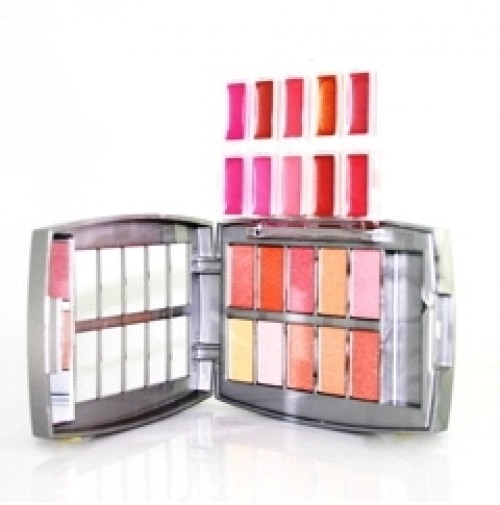 Pasha 10 Eyeshadows & 10 Lipgloss by pasha