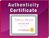 Authencity Certificate